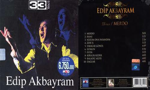 """Edip Akbayram:"""" 33ncü"""" albümü"""