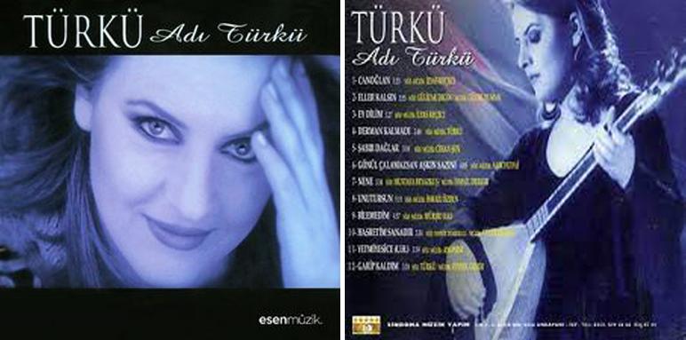 """Türkü Çevik : """" Adı Türkü """" Albümü"""